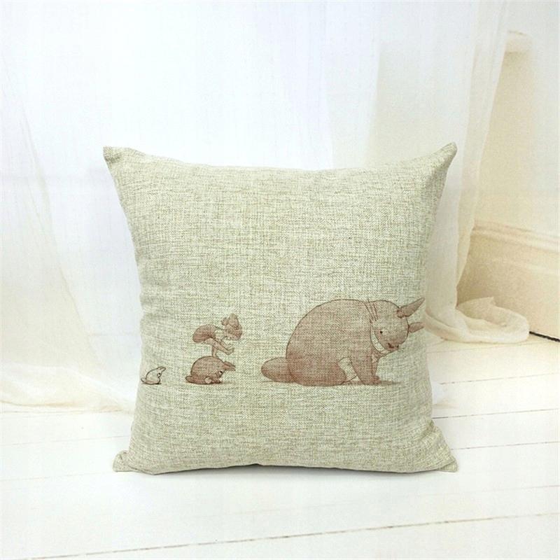 Poduszka Dekoracyjna Poszewka Totoro Dla Dzieci 7582078157