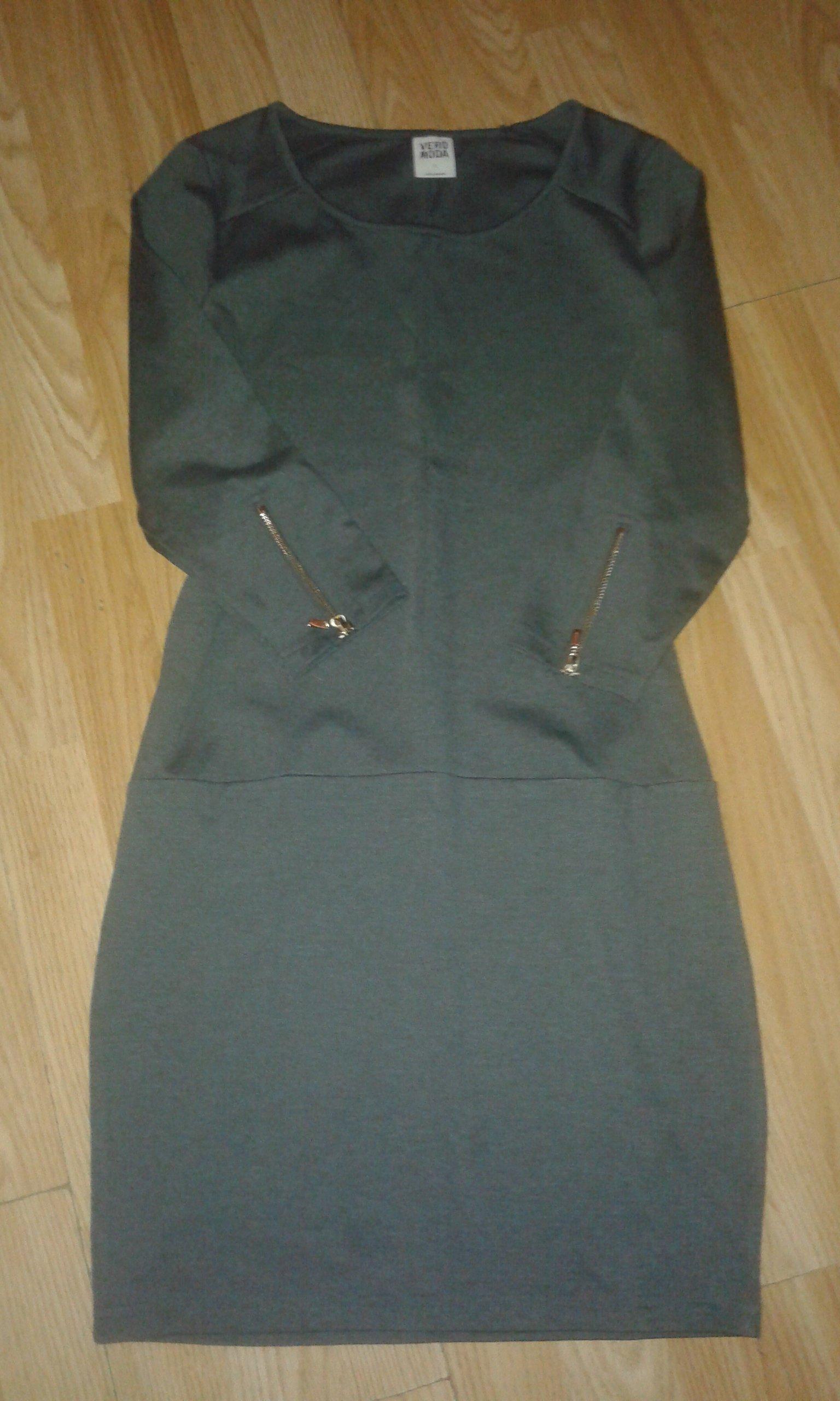 5de99043cc VERO MODA sukienka S - 7311097623 - oficjalne archiwum allegro