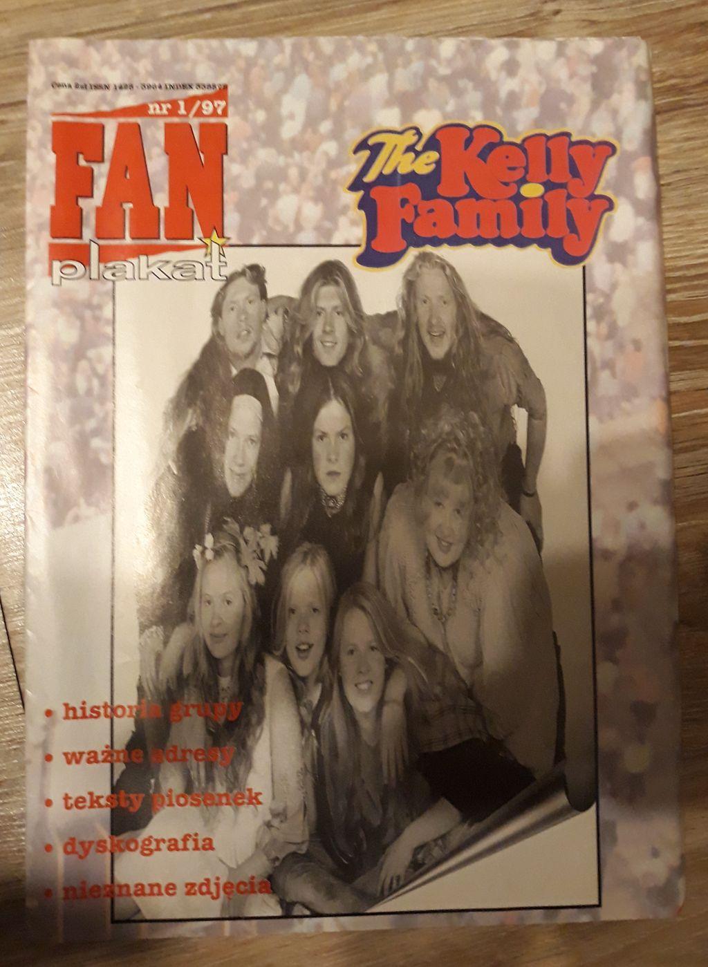 Tke Kelly Family Fan Plakat Postermagazyn Unikat