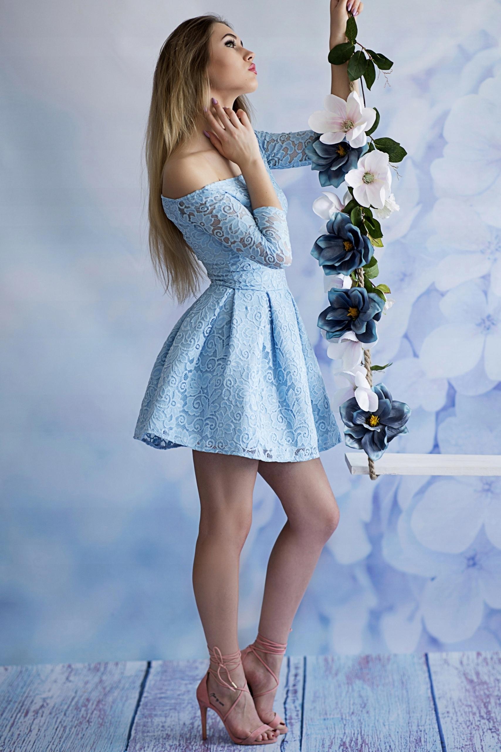 063302e41c Koronkowa sukienka koktajlowa mini Kremowy XS - 7450787318 ...