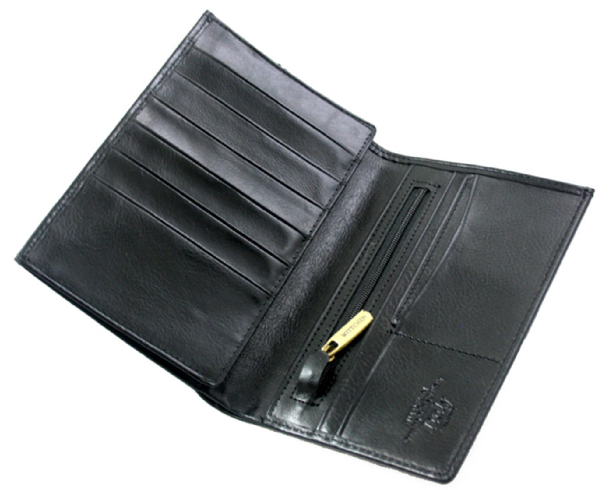 6ed0789493cb1 Skórzany duży portfel męski Wittchen Italy