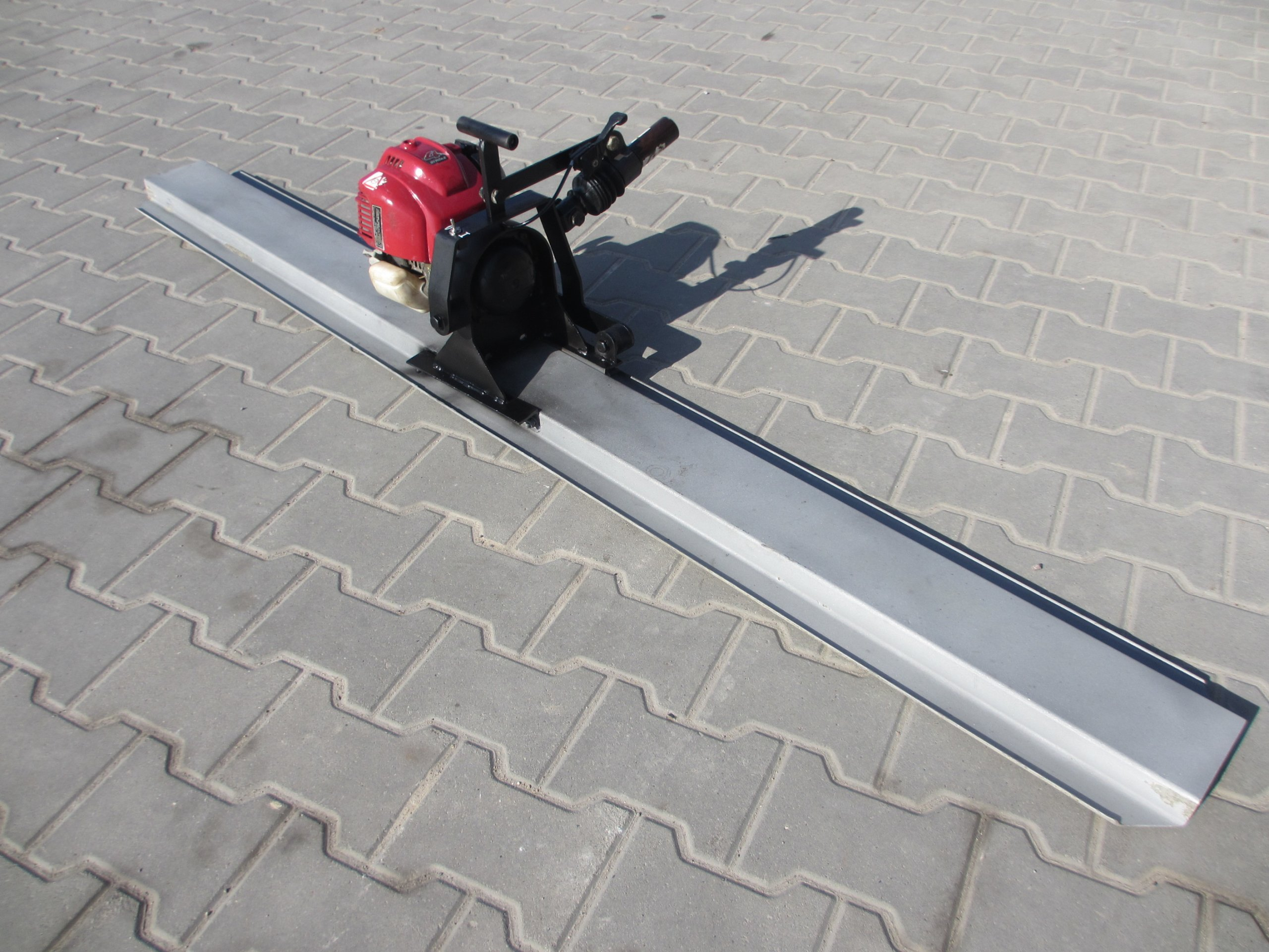 Bardzo dobra Listwa łata wibracyjna do betonu ENAR 2m - 7419803167 - oficjalne JA26
