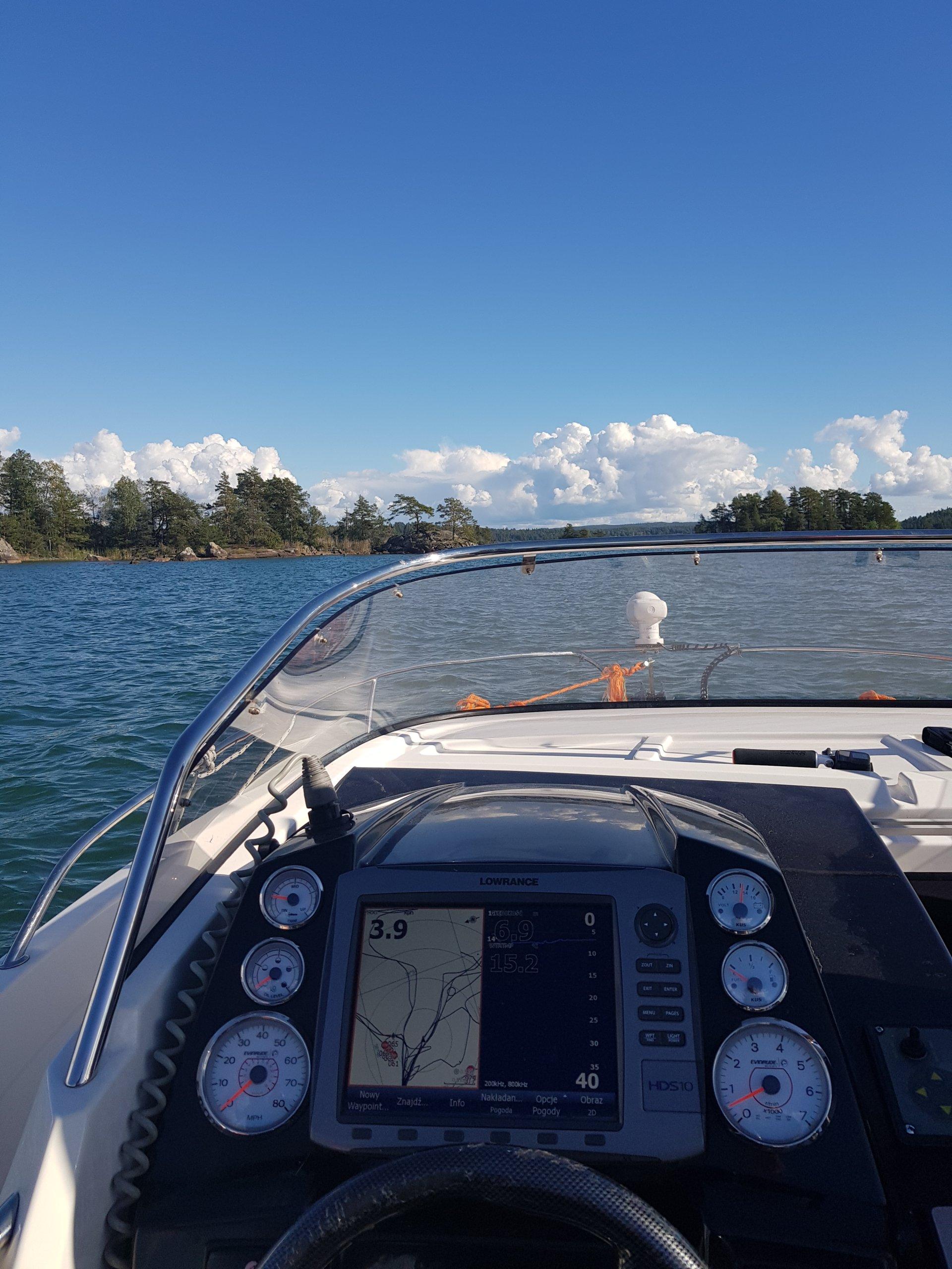 łódź Motorowa Am 620 Sundeck 2016 Wyposażona 7089363750