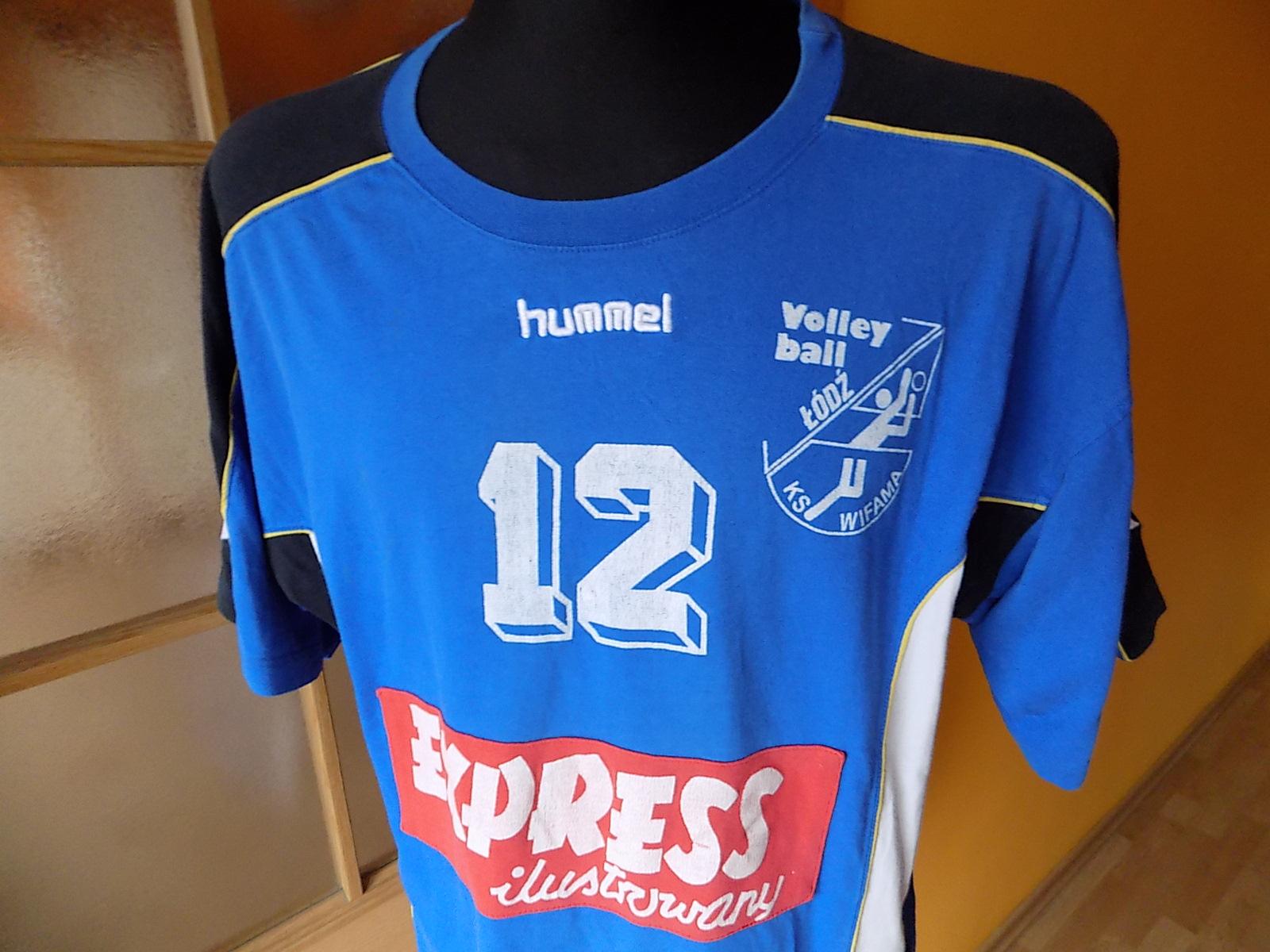 Hummel Wifama Łódź koszulka XL volleyball retro