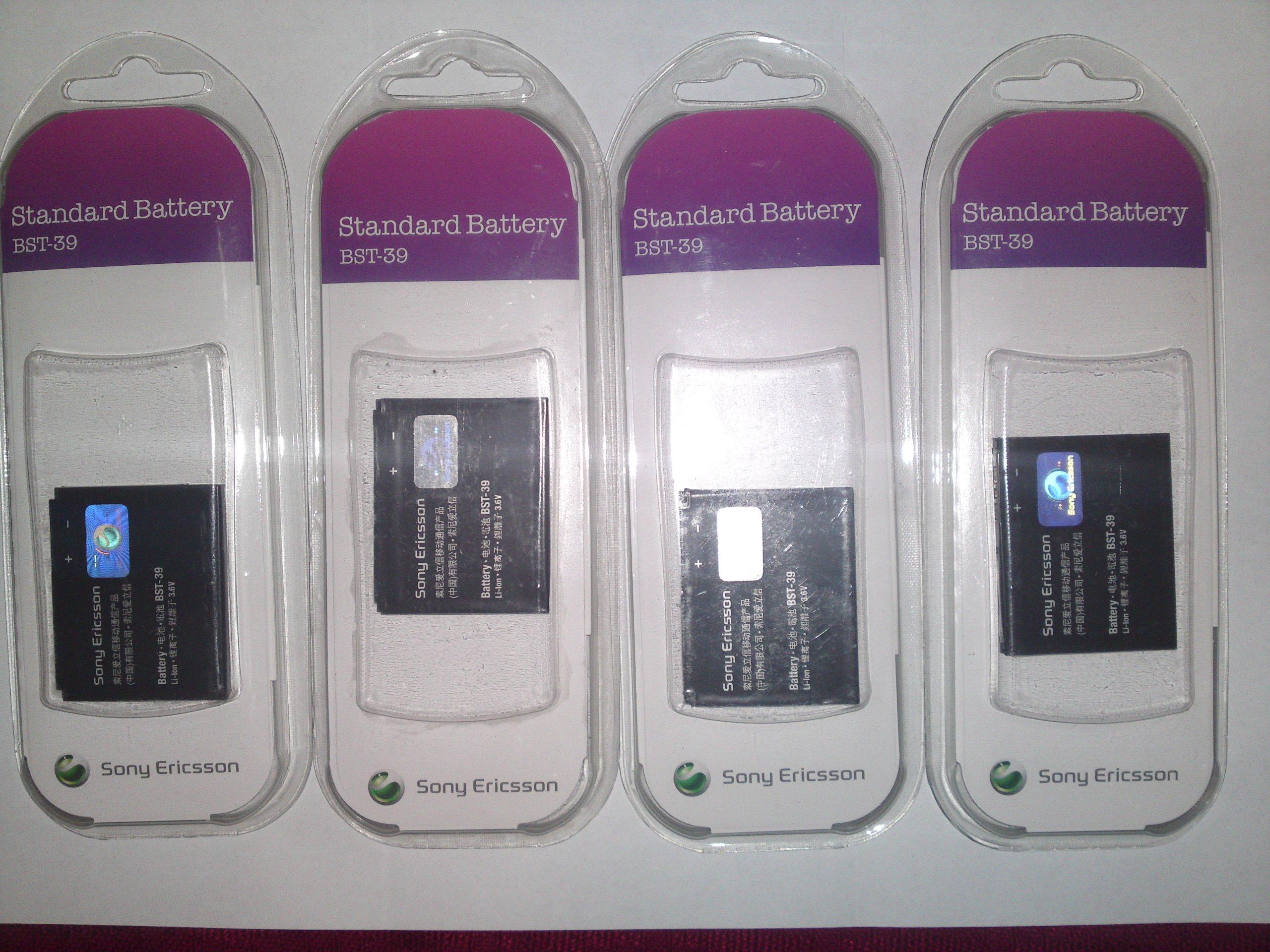 Oryginalne do Sony Ericsson W380 W910 W508 4 szt