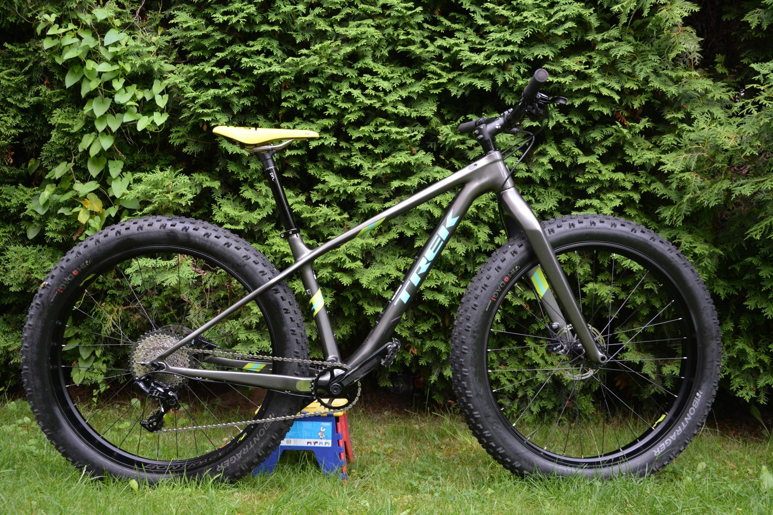 "Fat Bike TREK Farley 9,6 17,5"" Carbon"