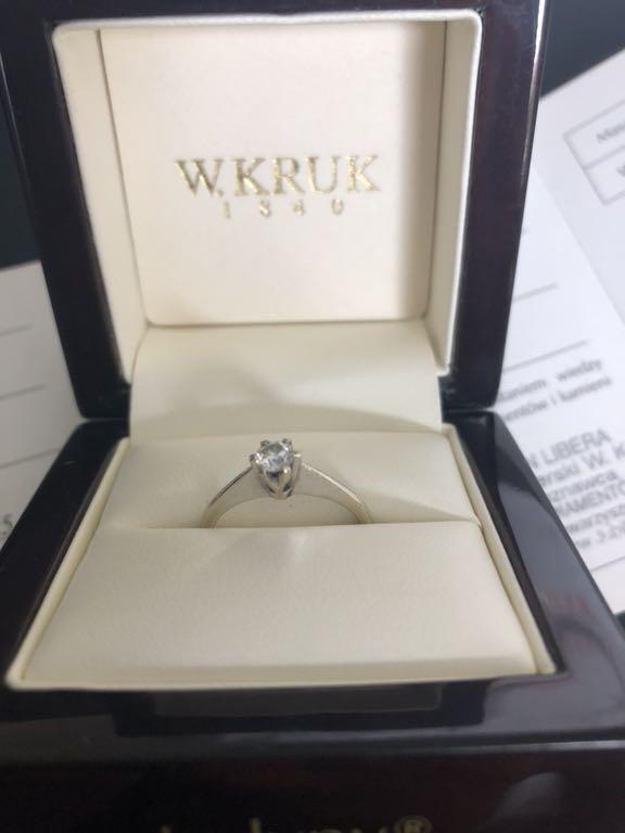 Pierścionek Zaręczynowy Kruk Jedyny 7422481241 Oficjalne