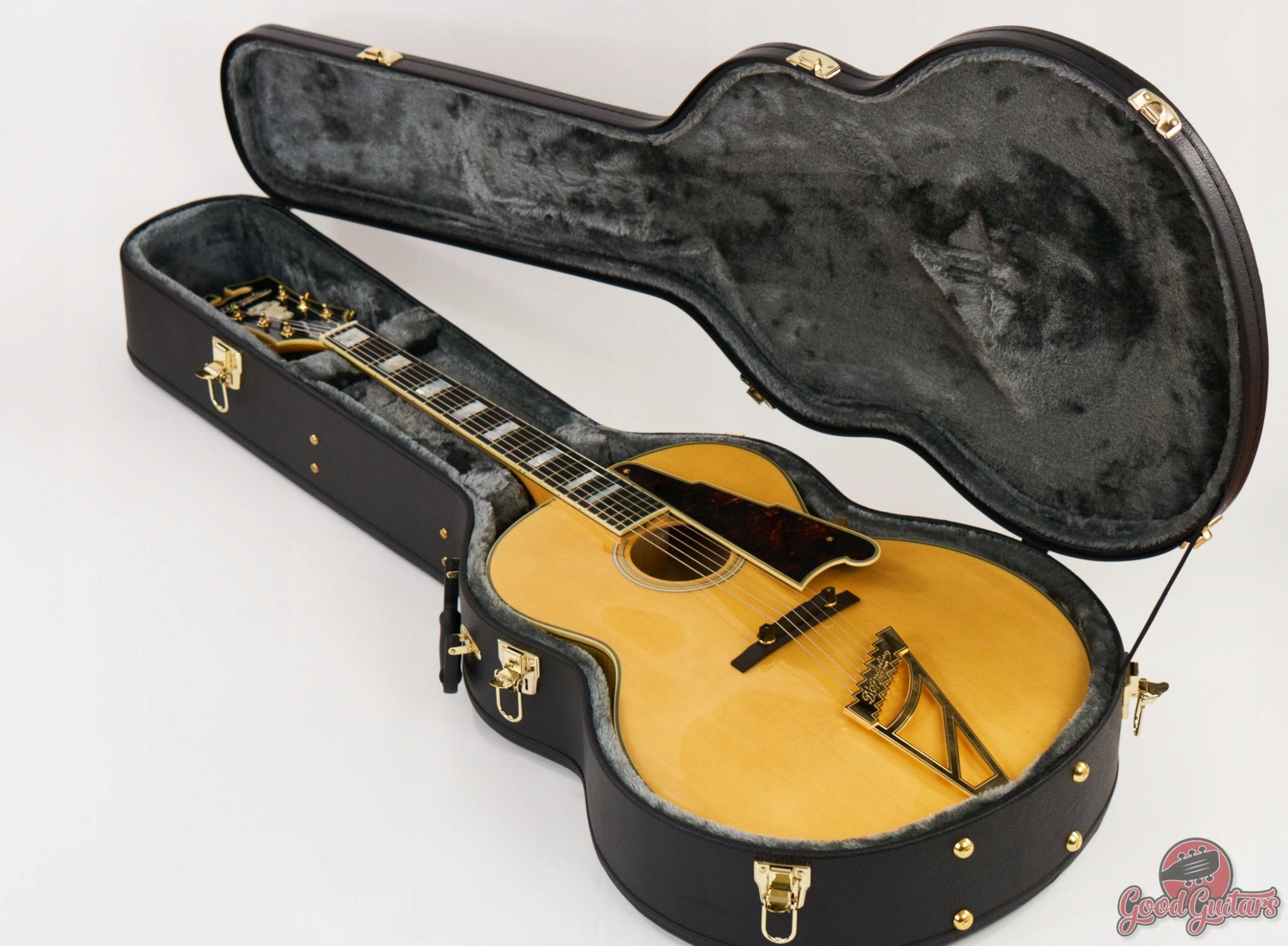D'Angelico EX-63 NA Jazz Archtop Gitara elektro-ak