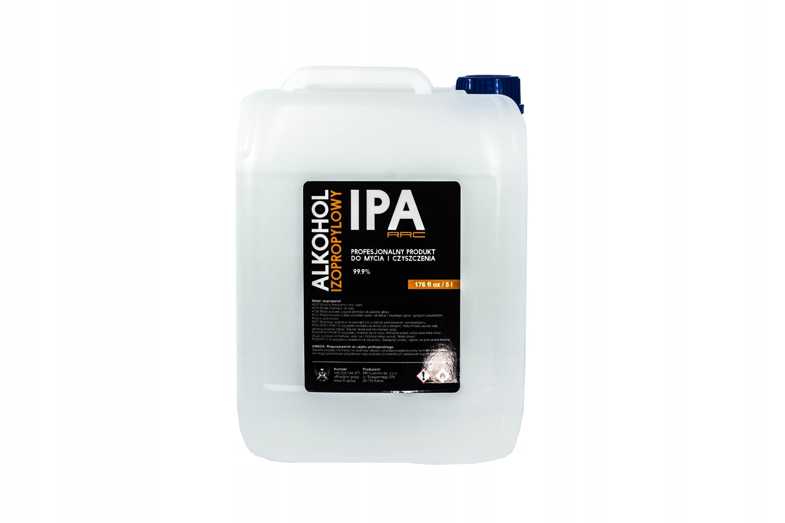 Alkohol Izopropylowy IPA RRC 5000ml