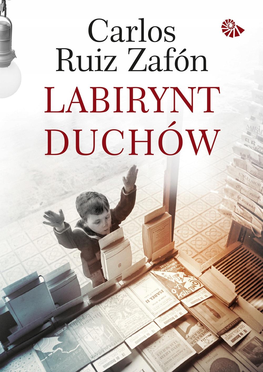 LABIRYNT DUCHÓW Carlos Ruiz Zafon OPRAWA TWARDA