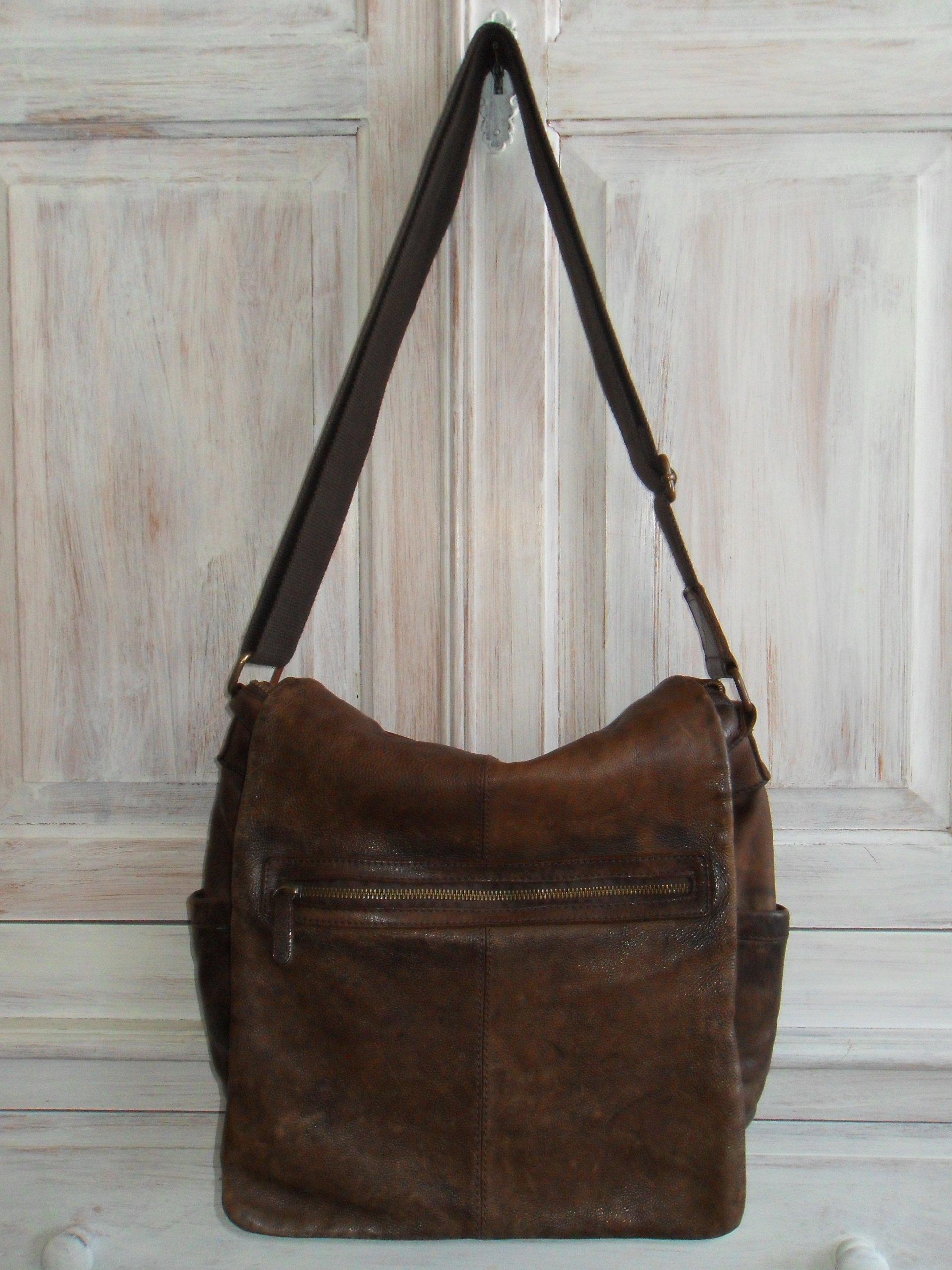 f160a6bfd8049 Skórzana torba Marc O`Polo ruda na ramię - 7264485307 - oficjalne ...