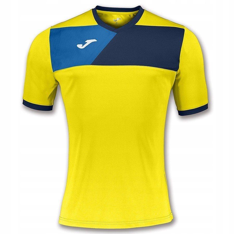 137d1cdce Koszulka Męska Piłkarska Joma Crew II żółt S - 7458316437 ...