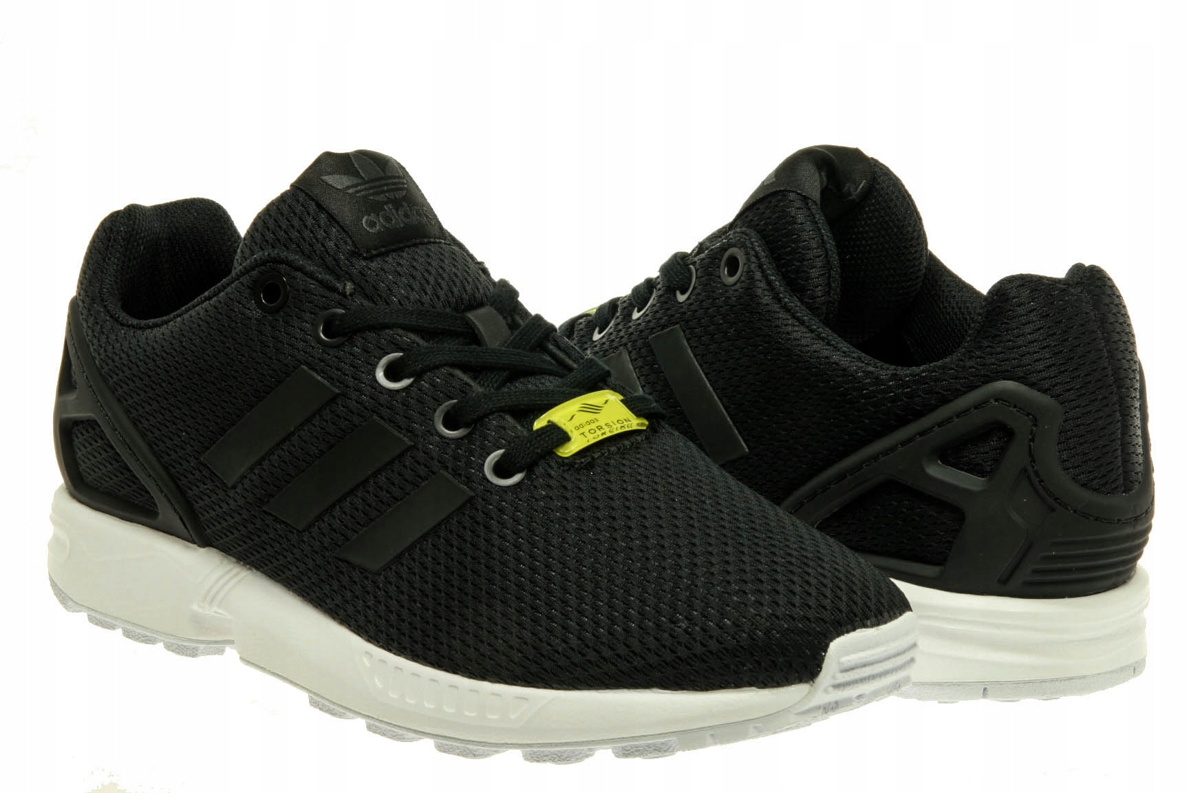 e5e941d77 Buty Damskie Adidas ZX FLUX J M21294 Czarne r. 40 - 7236870397 ...