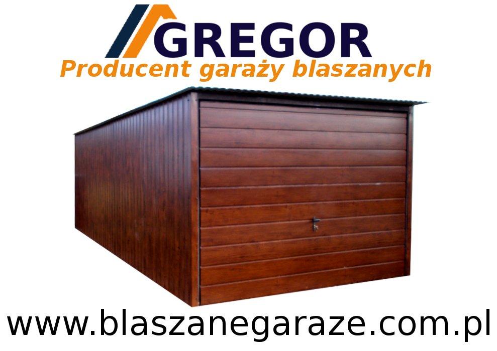 Garaż Blaszany Garaże Blaszane 3x5 łódzkie 7253808739 Oficjalne