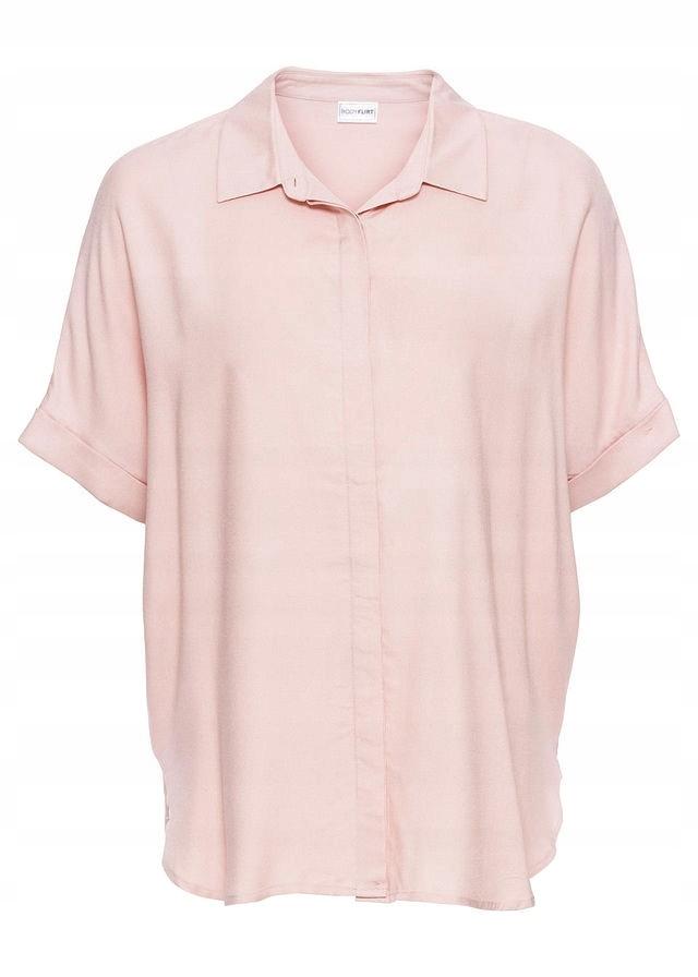 7befbb8fbe Bluzka oversize różowy 52 6XL 922432 bonprix - 7586605480 ...