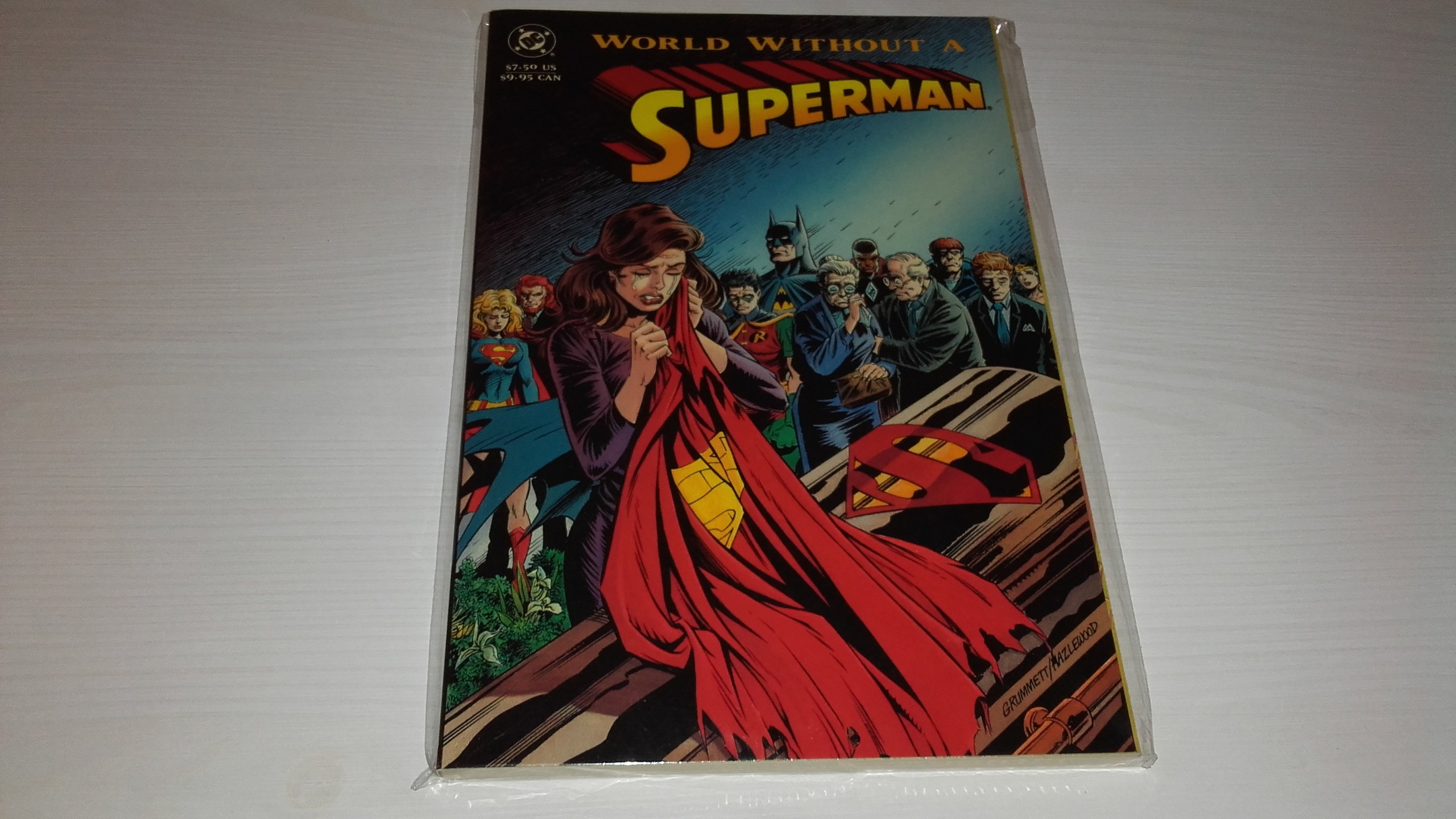 SUPERMAN: A WORLD WITHOUT A SUPERMAN. DAN JURGENS