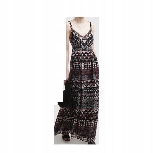 867ffe6b9f VILA sukienka letnia długa nowa rozmiar S - 7236681034 - oficjalne ...