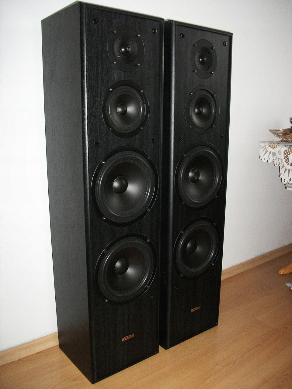 Kolumny Audio KODA wolnostojące podłogowe