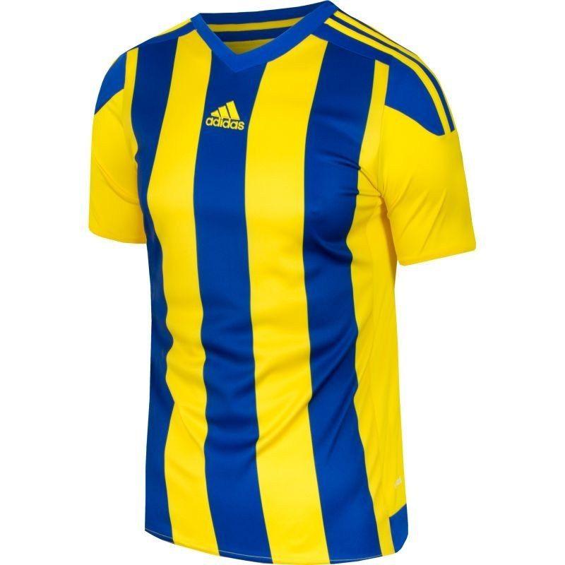 5481a351e84c55 Koszulka piłkarska adidas Striped 15 Junior 152 - 7182524995 ...