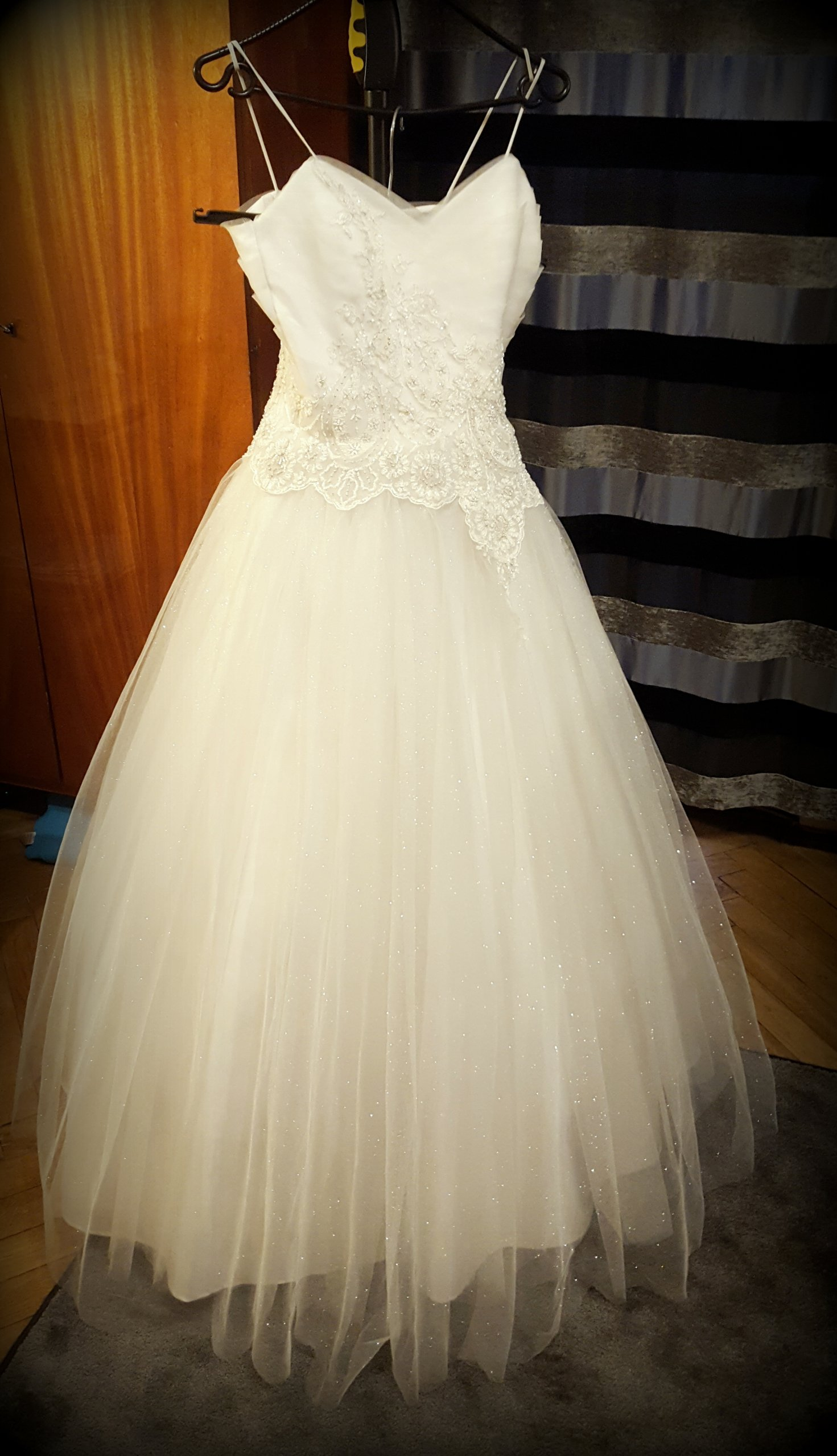 Suknia ślubna Princessa 36 Mieniący Tiul 7397337129 Oficjalne