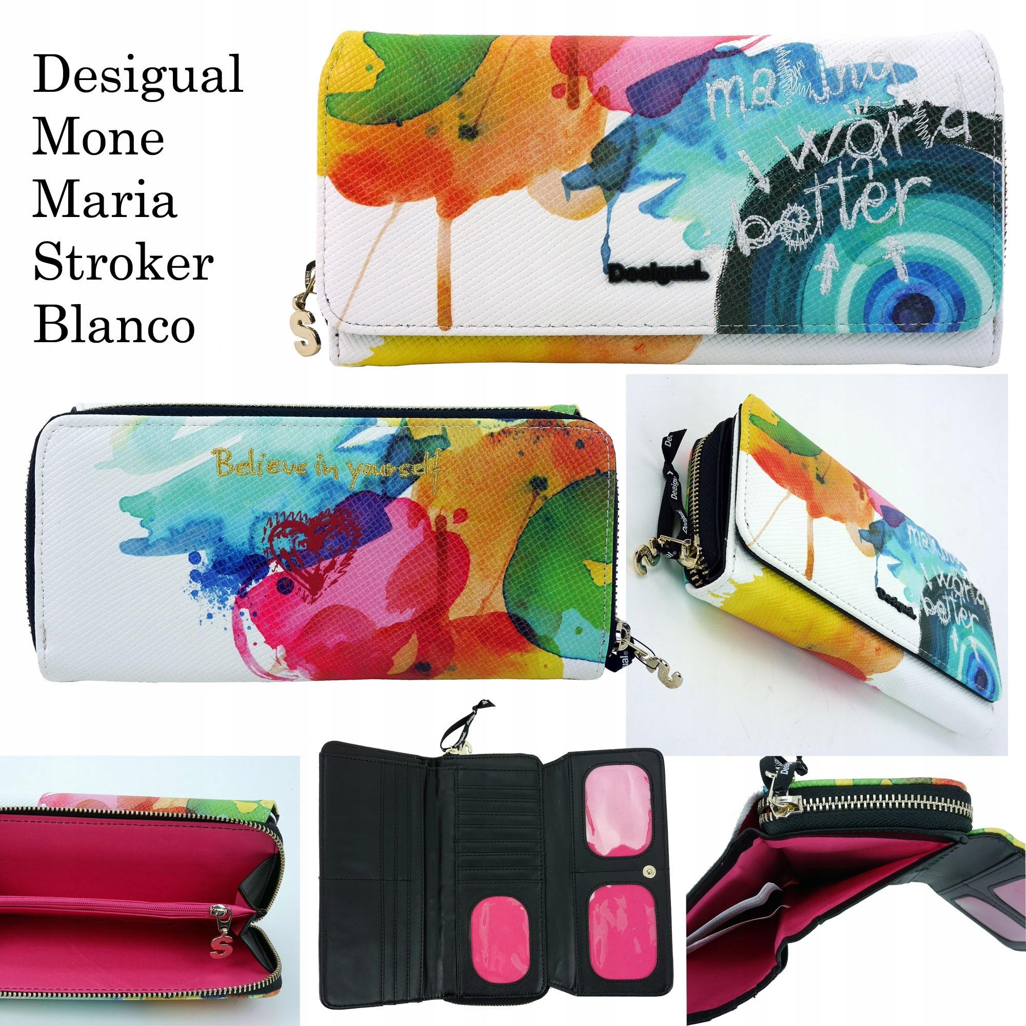 838ef7df534 DESIGUAL portfel BIG MONE MARIA STOKER - 7482185098 - oficjalne ...