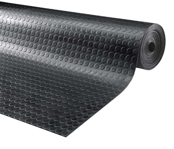 Wspaniały Mata gumowa guma z rolki antypoślizgowa czarna - 7400093124 QA93