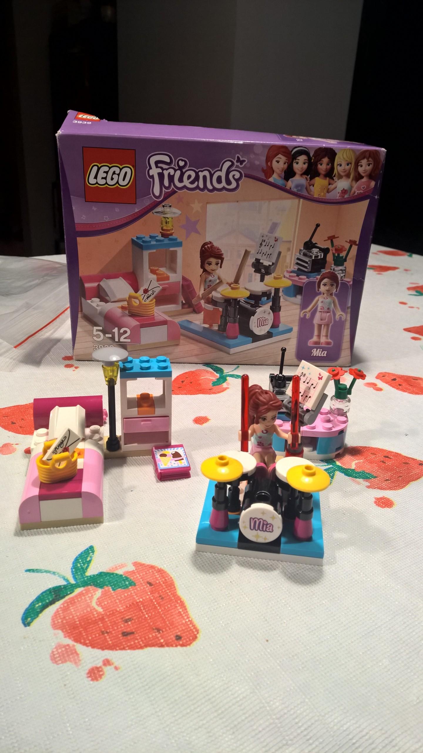 Lego Friends Pokój Muzyczny Mii 3939 7482851510 Oficjalne