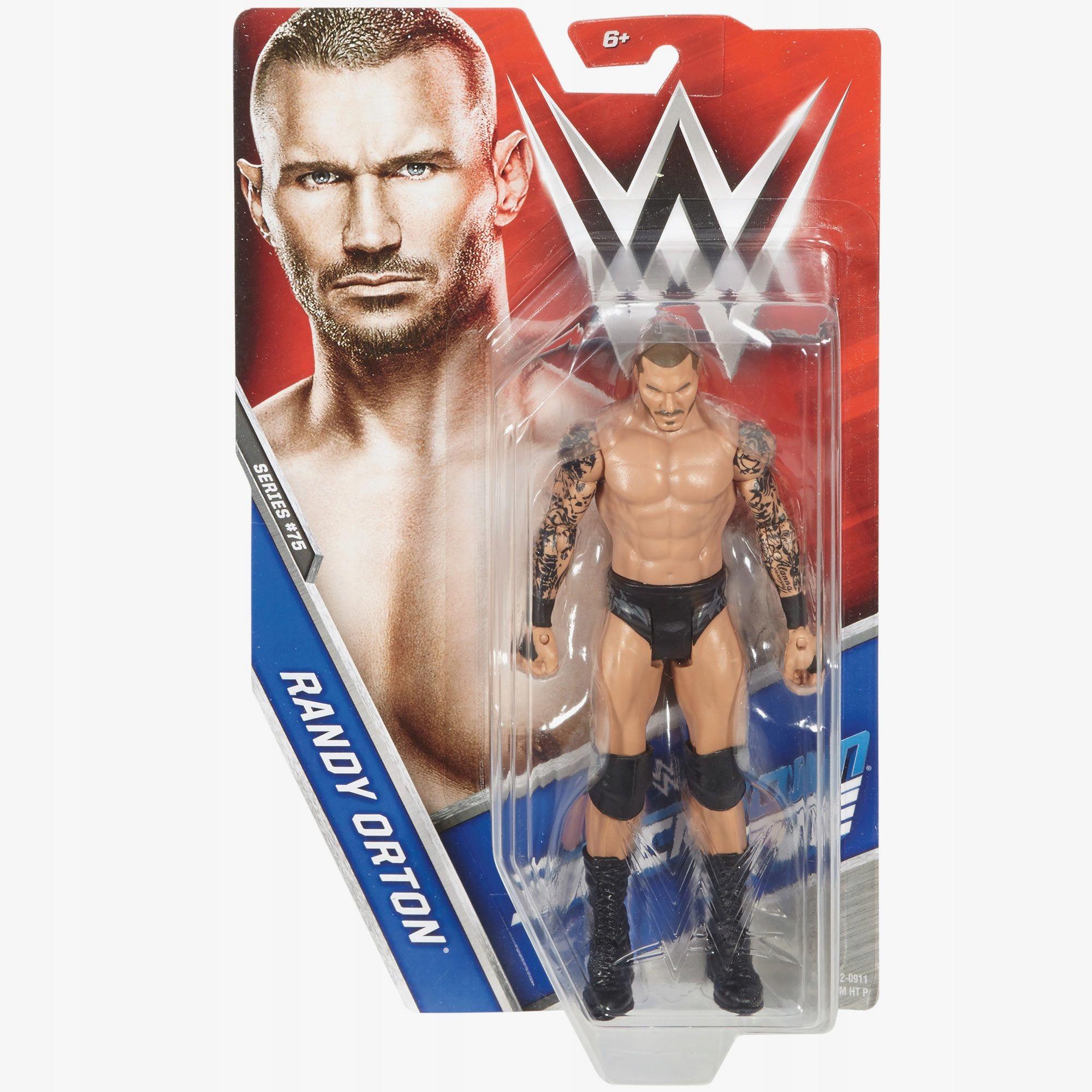 Wwe Randy Orton Figurka Wrestling 75 Basic 7284774809