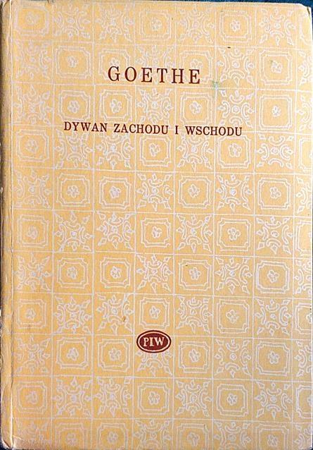 Dywan Zachodu I Wschodu Goethe 7527546375 Oficjalne
