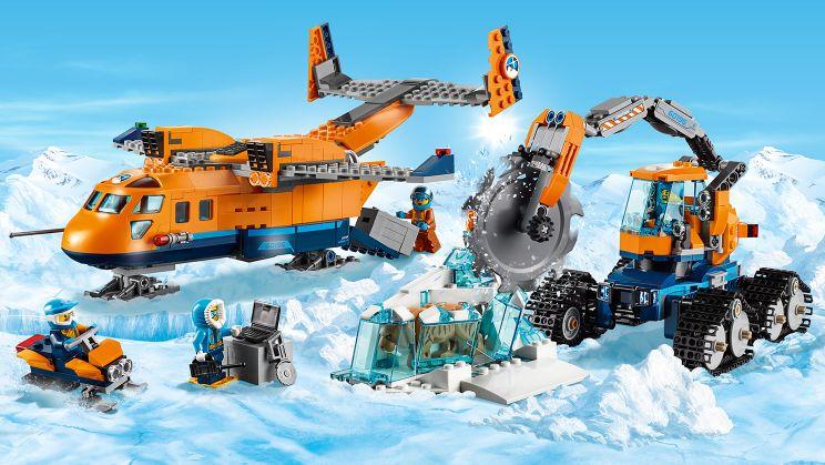 Lego City Arctic 60196 Arktyczny Samolot Dostawczy 7576804876