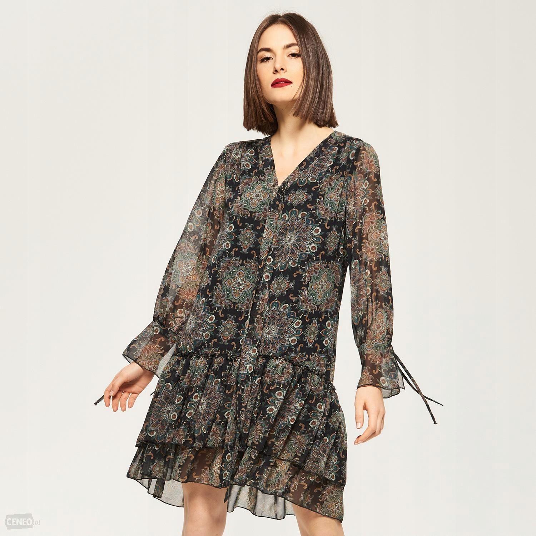 76c5da0eed Sukienka w stylu BOHO Reserved NOWA roz 40 - 7477251252 - oficjalne ...