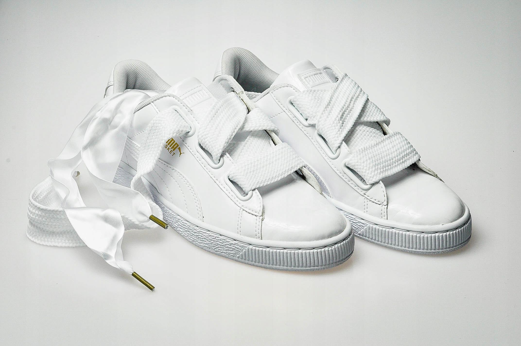 02aa1573 Puma BASKET HEART PATENT Sneakersy r.39 !Wyprzedaż - 7505440002 ...