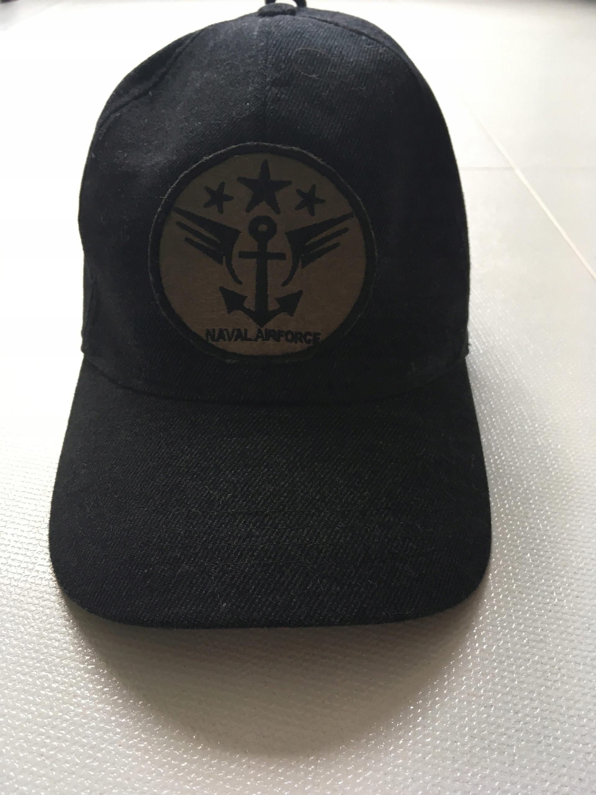 Szara czapka ZARA M z daszkiem
