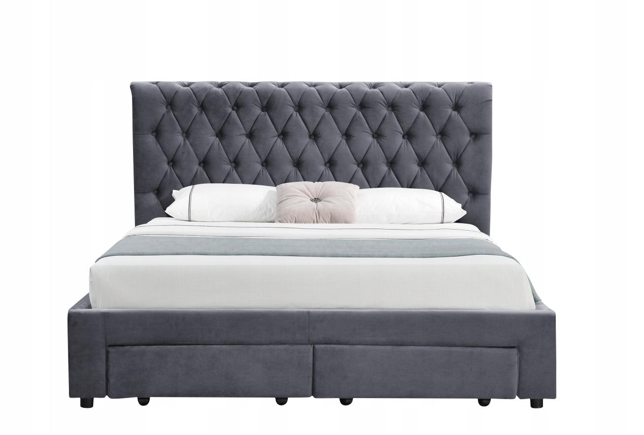 łóżko Tapicerowane 140x200 Materac Wysyłka Gratis 7609404432