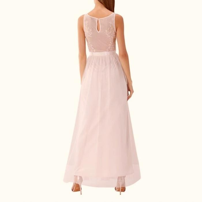 eefce6ec Długa tiulowa sukienka COAST pudrowy róż Xs, 34 - 7694057727 ...