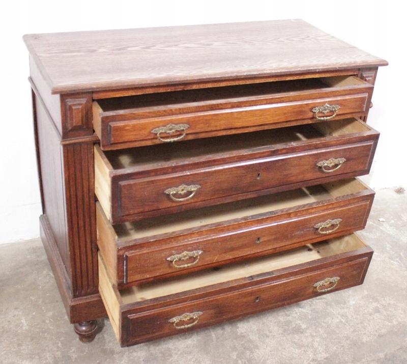 Bardzo dobra 3582 stara komoda z szufladami - 7556735008 - oficjalne archiwum PM48