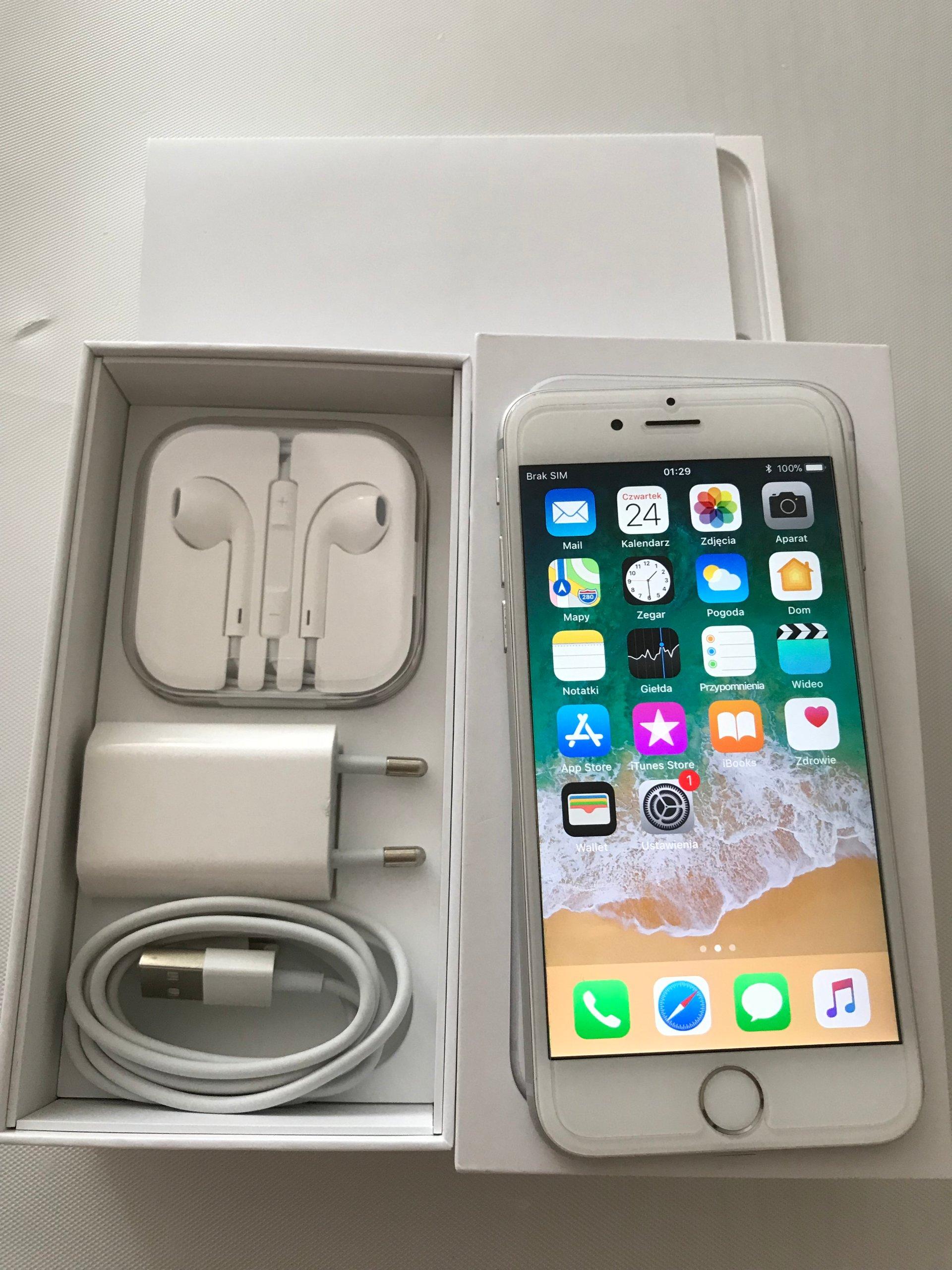 Iphone 6 64gb Silver 7365204094 Oficjalne Archiwum Allegro