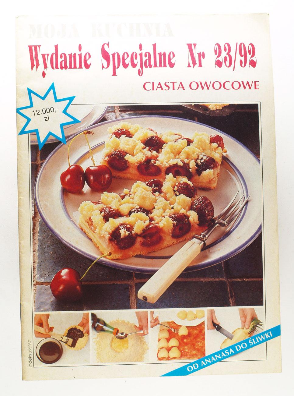 Moja Kuchnia Wydanie Specjalne Nr 2392 Ciasta 7207982164