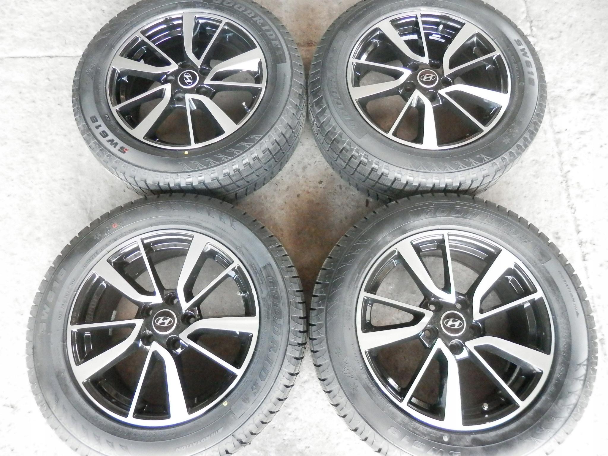 Nr102 5x1143 17 Hyundai Tucson Ix35 Koła Zima Now 7398505239