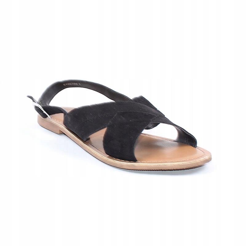 591ab0e87ccaa Skórzane sandały damskie New Look 37 BCM! - 7512061973 - oficjalne ...