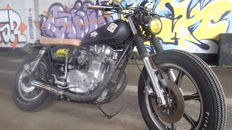 Yamaha XS650 boober , scrambler , cafe racer