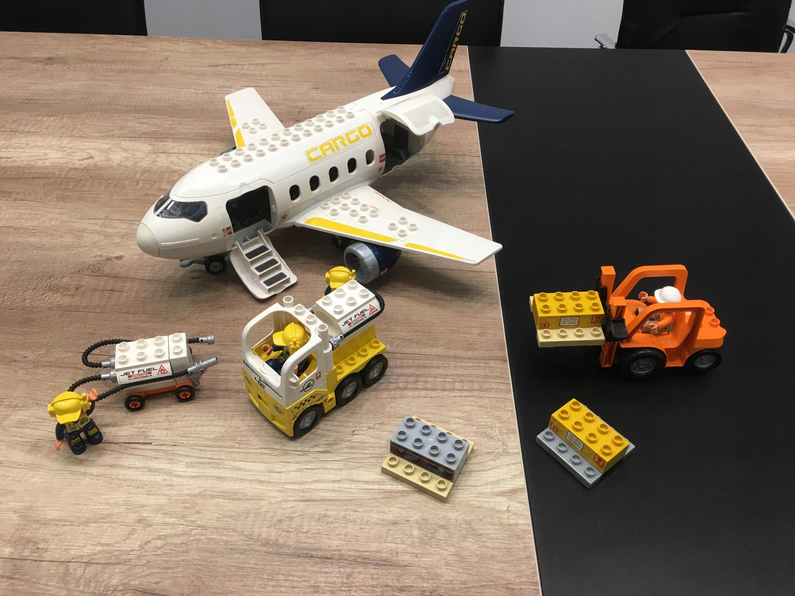 Klocki Lego Duplo Wielki Samolot Cargo Od 1pln 7690845150