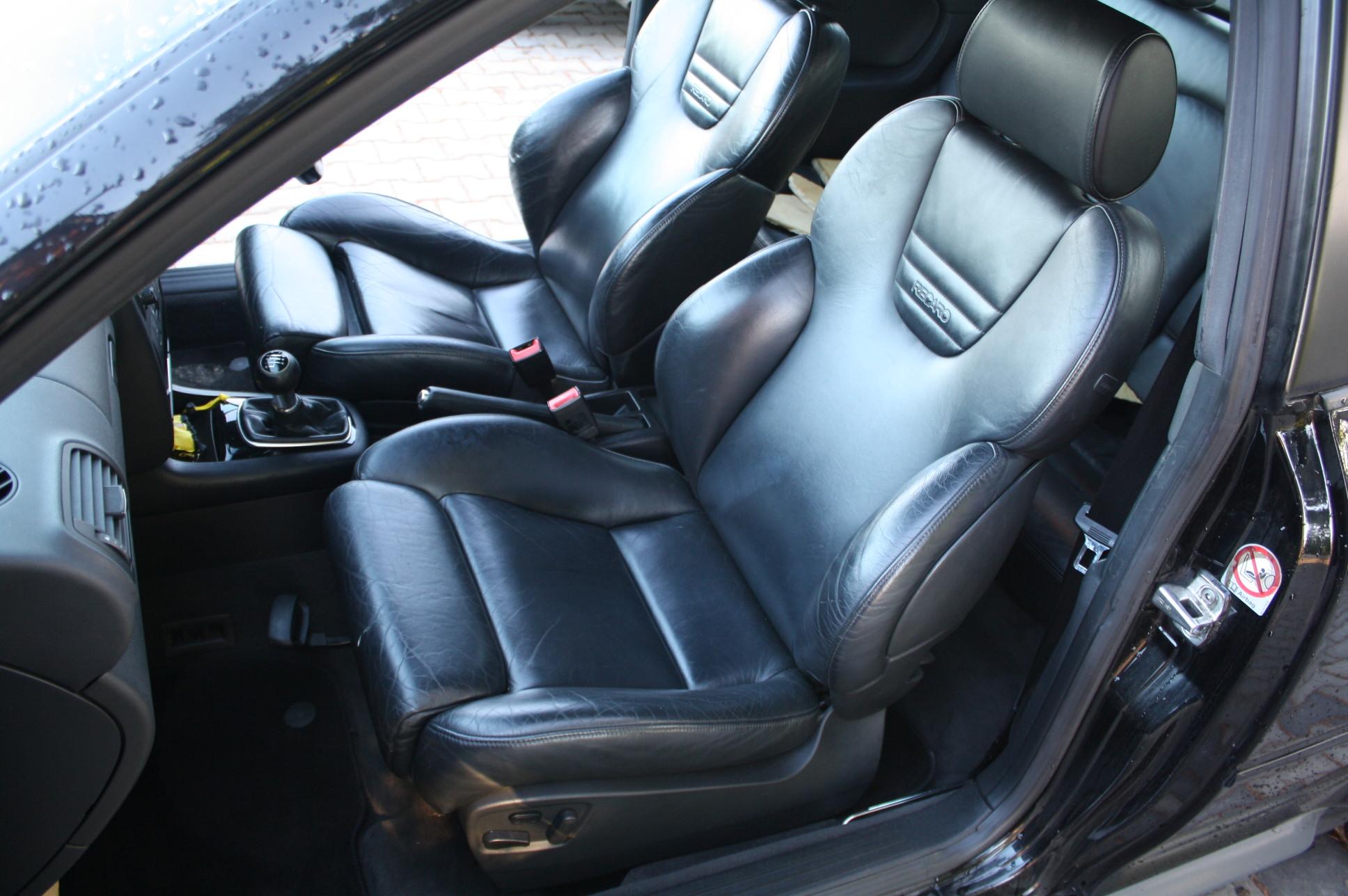 Fotele Skórzane Recaro Audi S3 8l Czarne Skóra Rs3 6954145415