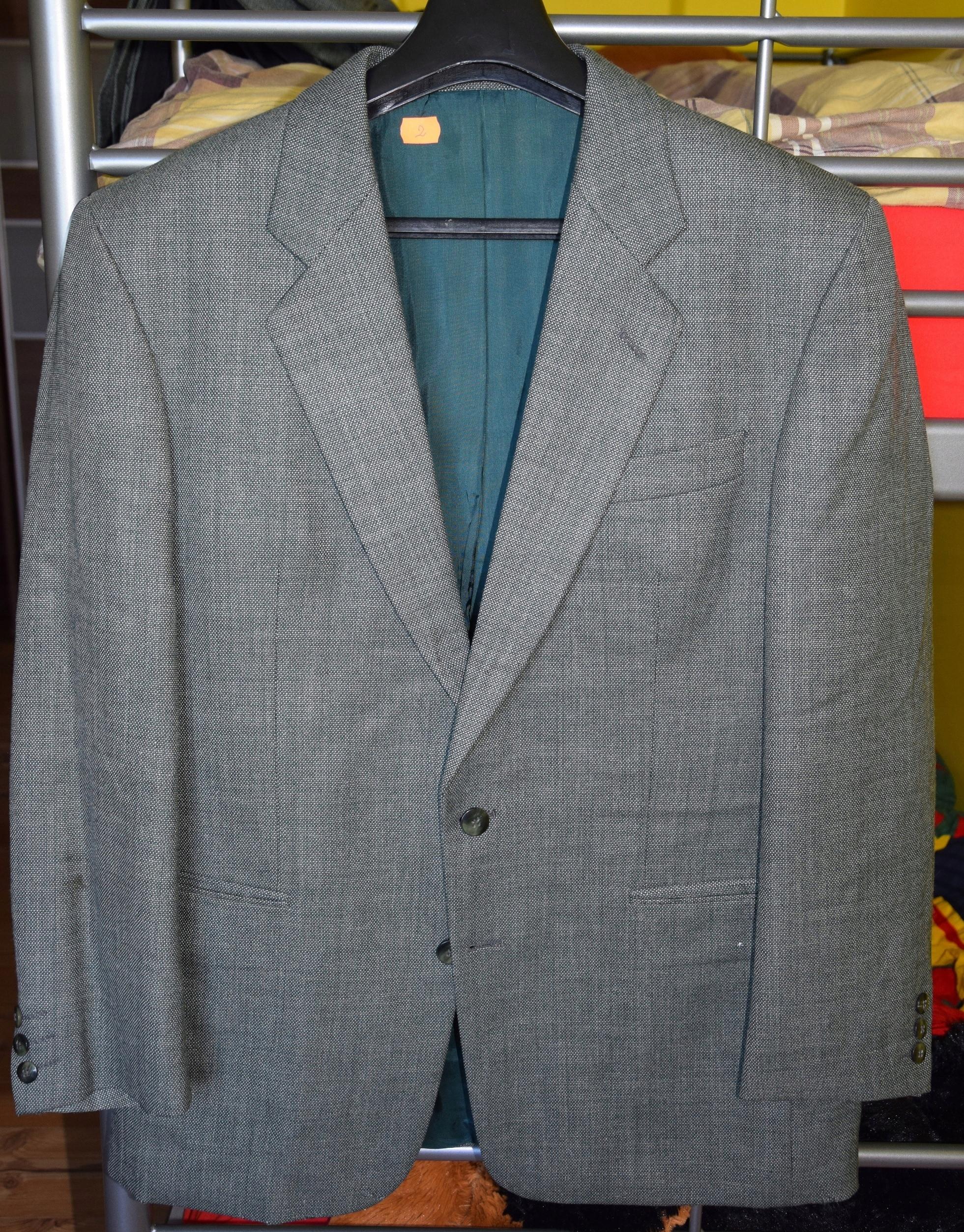 0a71ee3f746dd Szary garnitur firmy Bytom, L, ok. 170-176 cm - 7523688819 ...