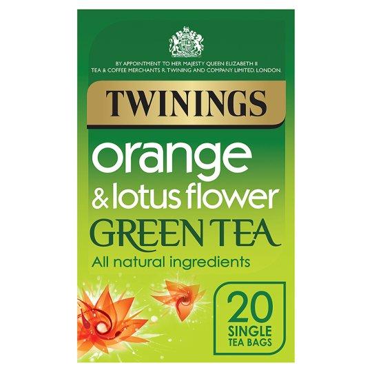 Twinings Zielona Herbata Pomarańcza I Kwiat Lotosu 7116663042
