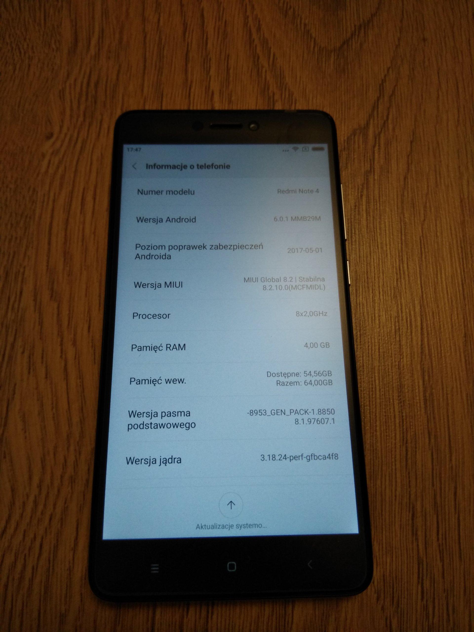 Xiaomi Redmi Note 4 Global 4 64GB LTE800MHz od 1zł