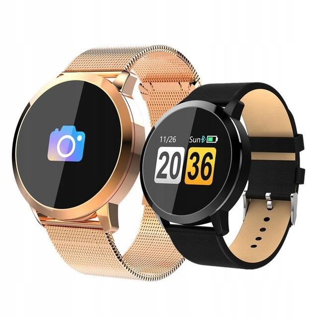 Smart Watch Q8 OLED Oksymetr Kamera IP67 Sport GRY