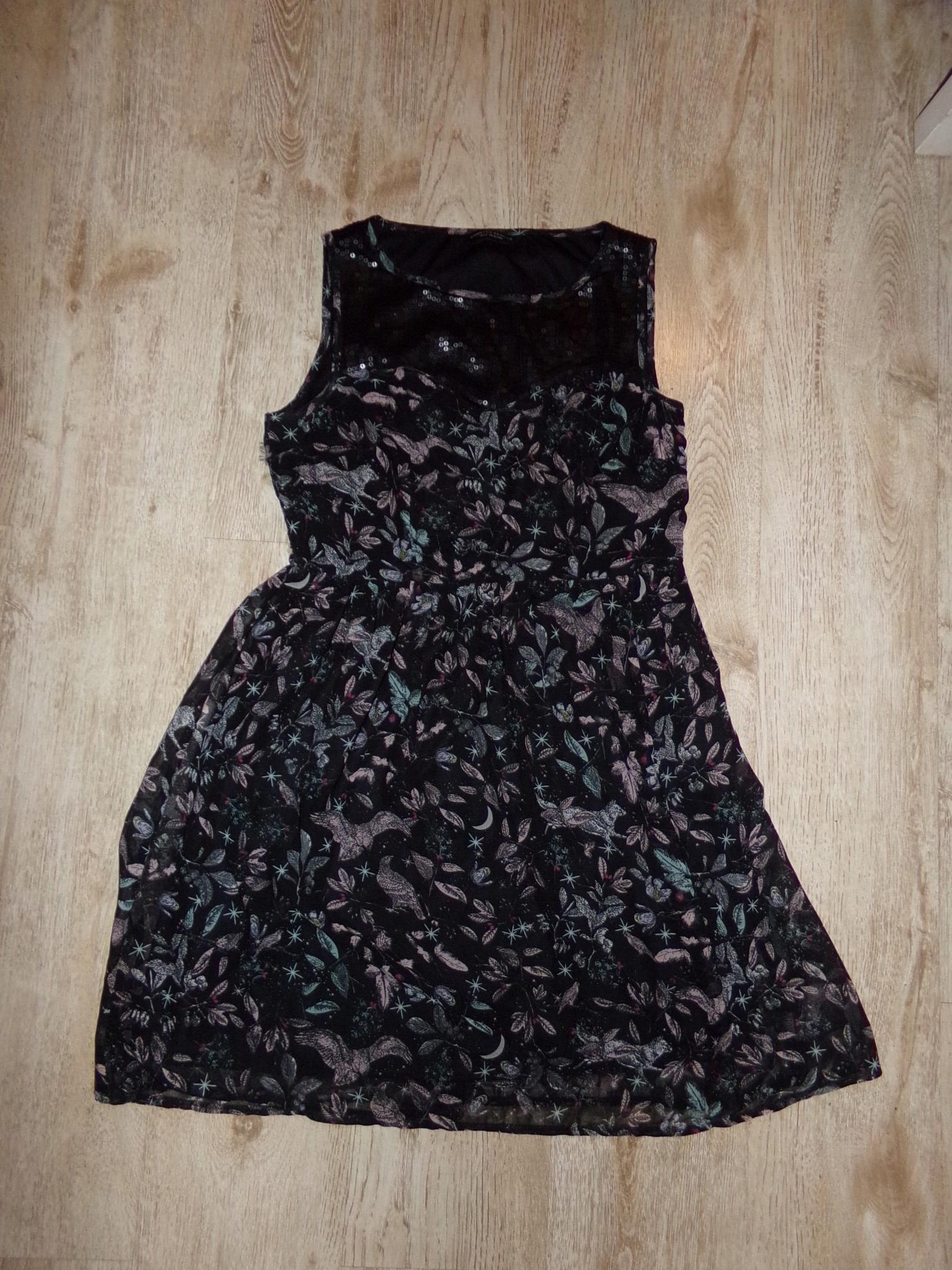 638d8d344e Sukienka Dorothy Perkins czarna cekiny 42 (XL) - 7684981367 ...