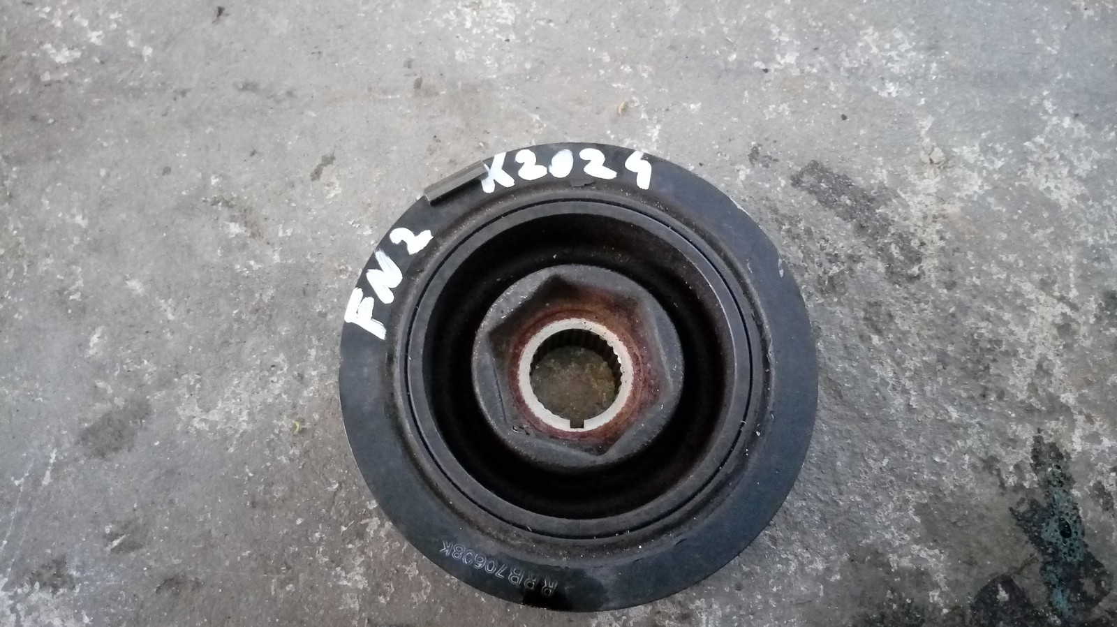 Koło pasowe wału Civic type R Fn2 K20Z4 K20A2 - 7292385588