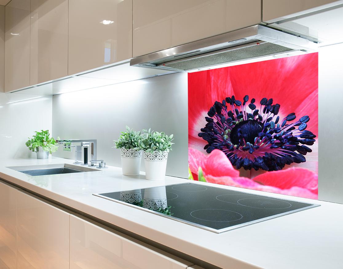 Szkło Do Kuchni Panele Hartowane 60x80 Kwiaty 7176947471